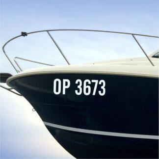 Registarske oznake za plovila