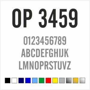 Registarska oznaka plovila – art. 504